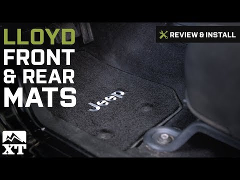 Jeep Wrangler Lloyd All Weather Carpet Front & Rear Floor Mats (2007-2016 JK) Review & Install