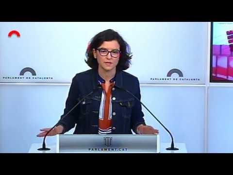 Conferència de Premsa d'Eva Granados - 24.04