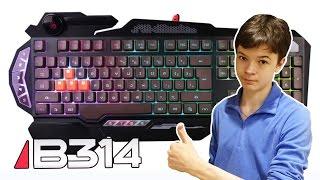 Игровая клавиатура A4tech Bloody B314 - UnBoxing