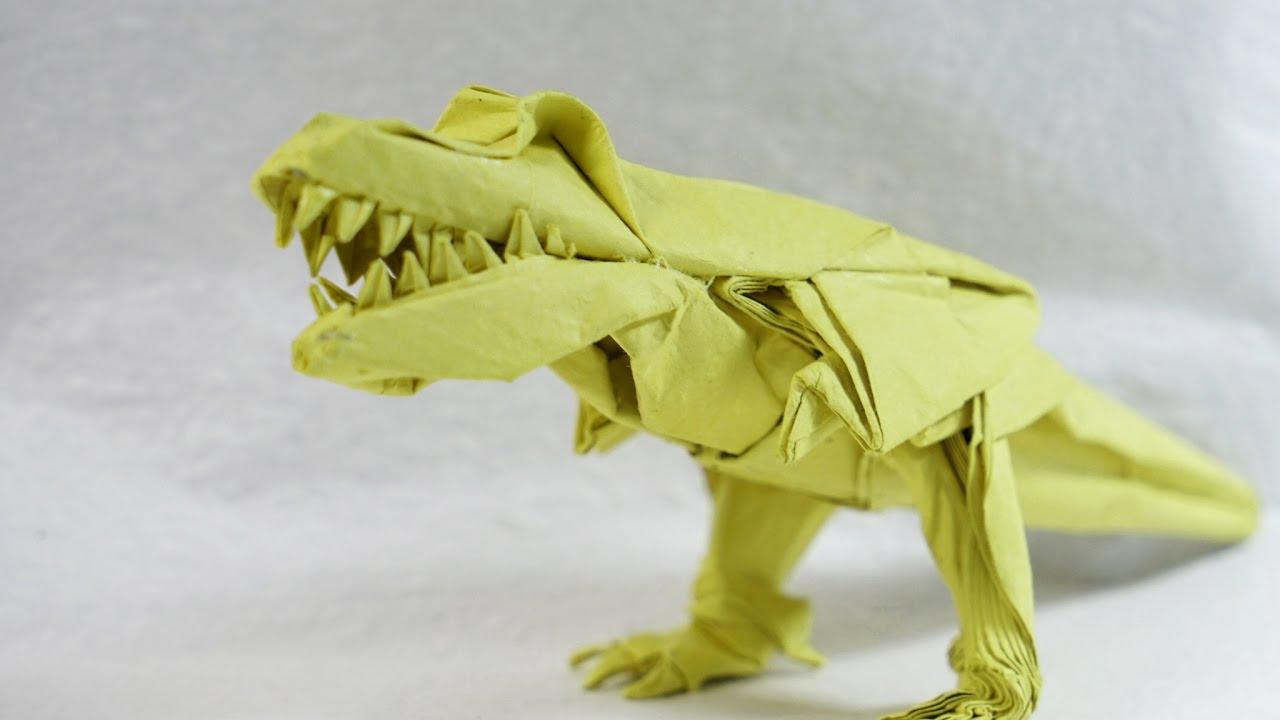 origami trex 20 demo 2 henry pham youtube