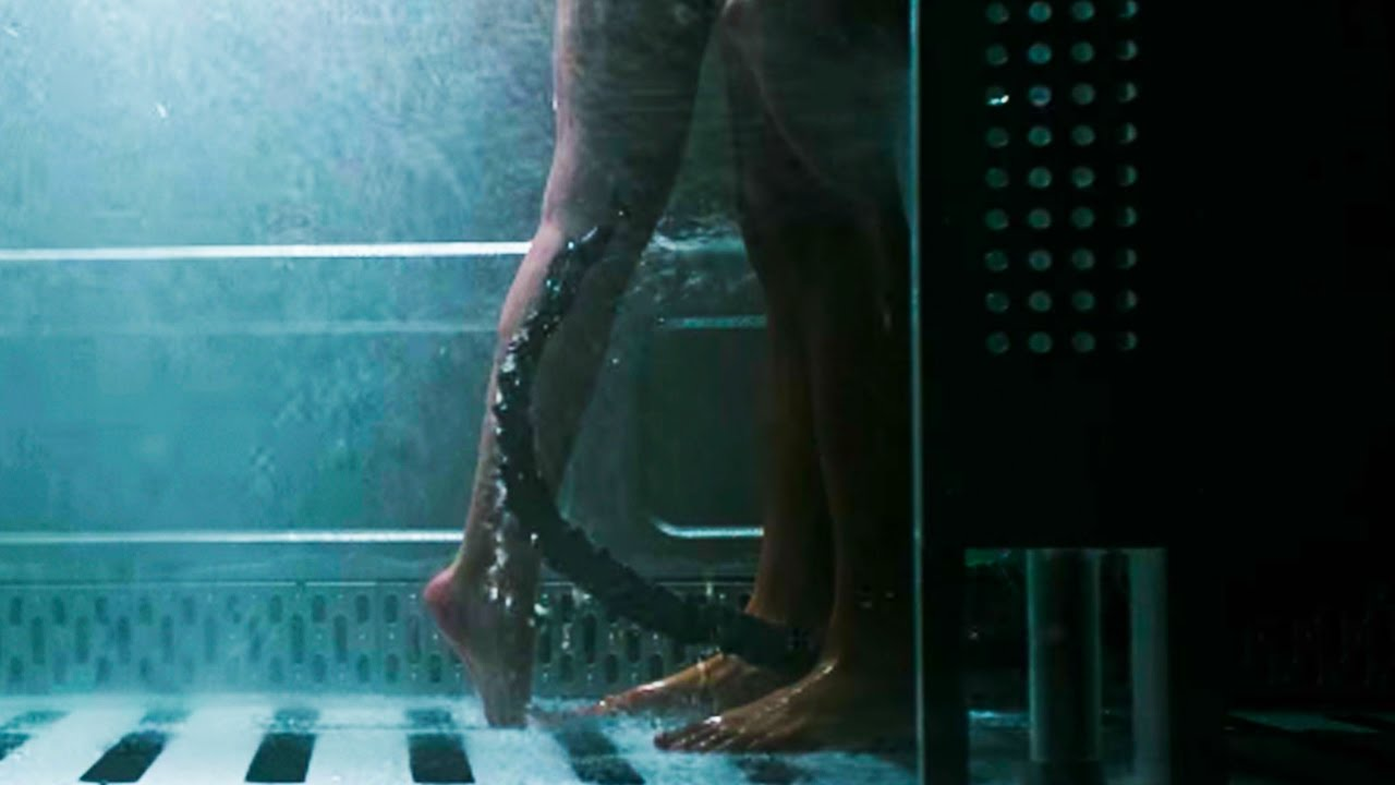 Movie nude shower scenes alien