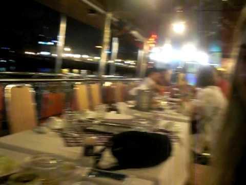 Cass, Lauren & Steph on the Saigon Dinner Cruise