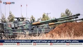 فيديو..طرد داعش من آخر منفذ لها على الحدود التركية