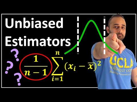Unbiased Estimators (Why n-1 ???) : Data Science Basics
