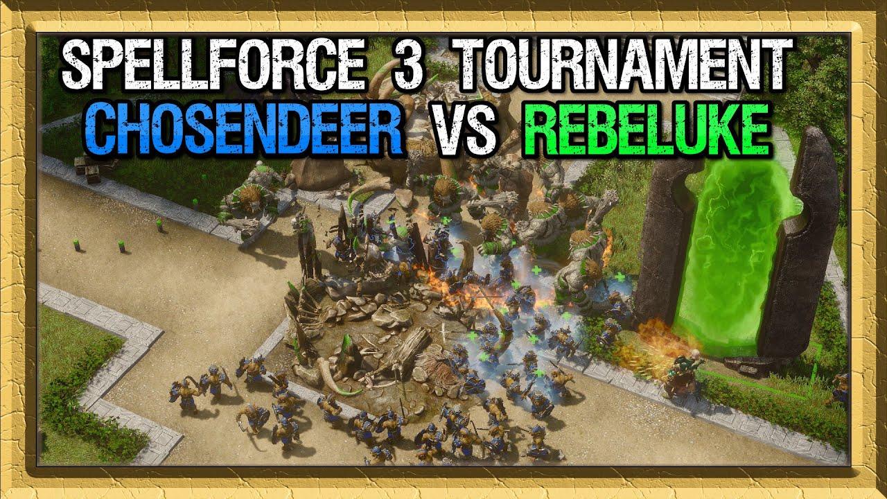 Spellforce 3 Tournament - ChosenDeer vs Rebeluke - Game 1