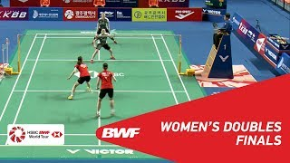 Download Video F | WD | CHANG/JUNG (KOR) [3] vs LEE/SHIN (KOR) [2] | BWF 2018 MP3 3GP MP4