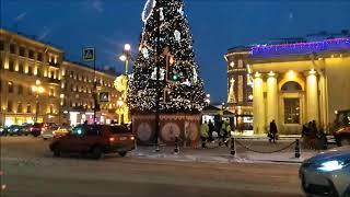 Новогодний Санкт-Петербург- город праздник!