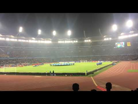 Indian National Anthem - FIFA U17 World Cup - India Vs Colombia