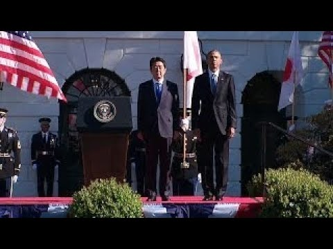 Japan Official Visit Arrival Ceremony