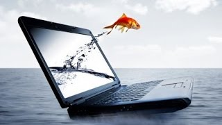 видео Уронили ноутбук - ремонт калитки ;) и ...