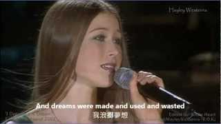 Repeat youtube video I Dreamed A Dream - 悲慘世界 主題曲 Hayley Westenra (HD)