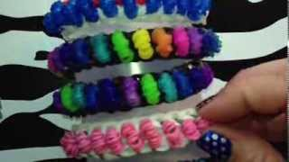 Popcorn Bracelet On Rainbow Loom