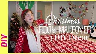 Christmas Room Makeover by Target   3 Fun Kids DIY Decor for Christmas!!   JazzyGirlStuff