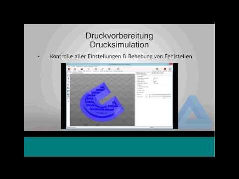 3D Druck mit dem RF1000 Webinar Conrad Electronic