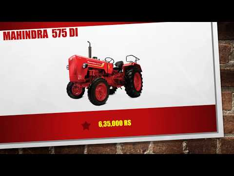 All Mahindra Tractors Models With Price Quick View Video