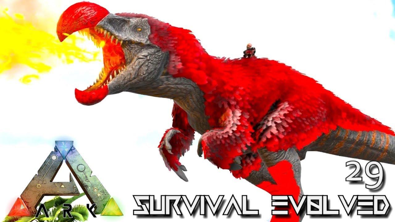 ARK: SURVIVAL EVOLVED - DODOREX & ELDER MALIN UNICORN TAMING E29 !!! (  PRIMAL FEAR PYRIA )