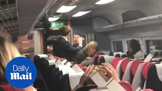 Train passenger unleashes horrific racist tirade on couple