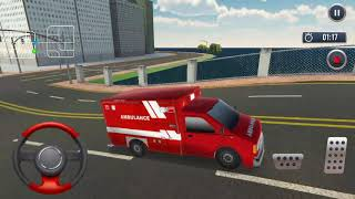 911 Ambulance Rescue Driver #6 Ambulance games for kids, ambulance car sound एम्बुलेंस खेल
