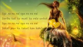 Indah Dewi Pertiwi-Cinta Setengah Mati~lirik~