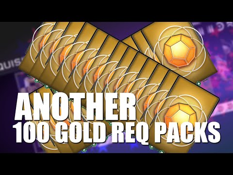 Halo 5 - Another 100 Gold Pack opening ($300+ worth) w/ GaLm