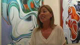 Ana Gonzalez-en, pintura erakusketa Zelai Arizti kultur etxean