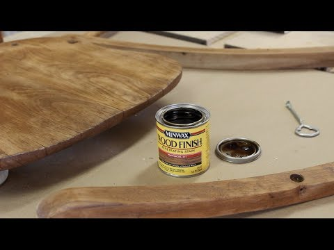 Restoring an Old Rocking Chair