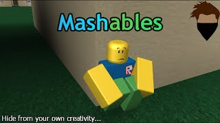 Mistaking a arm for a leg... | ROBLOX: Mashables