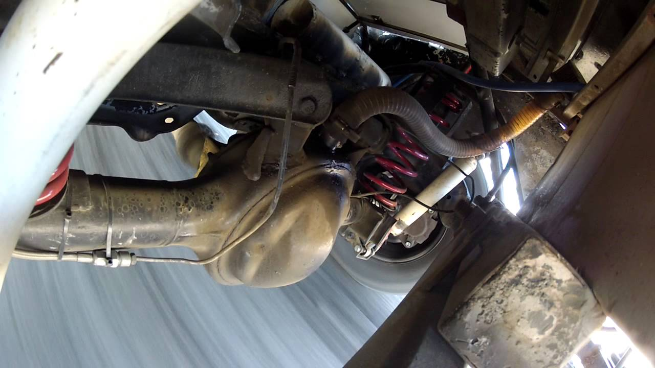Street Stock rear suspension real time video