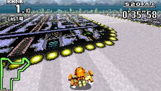 "F-Zero Maximum Velocity TAS Snake Circuit (Knight 1) 1'37""20"