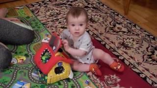 """Лучшая игрушка для ребенка в 8 месяцев! /Домик-сортер """"K's Kids"""" - отзыв"""