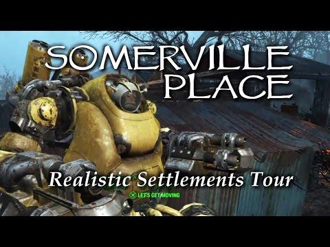 Settlement Tour ep19 Somerville Place Fallout 4 PS4