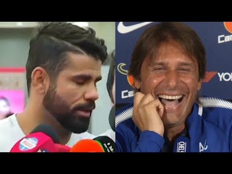 "Diego Costa: ""I'm Sorry Antonio Conte, Please Take Me Back"" 