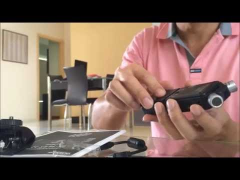 Unboxing and testing of Olympus LS14 music recorder 数码录音机