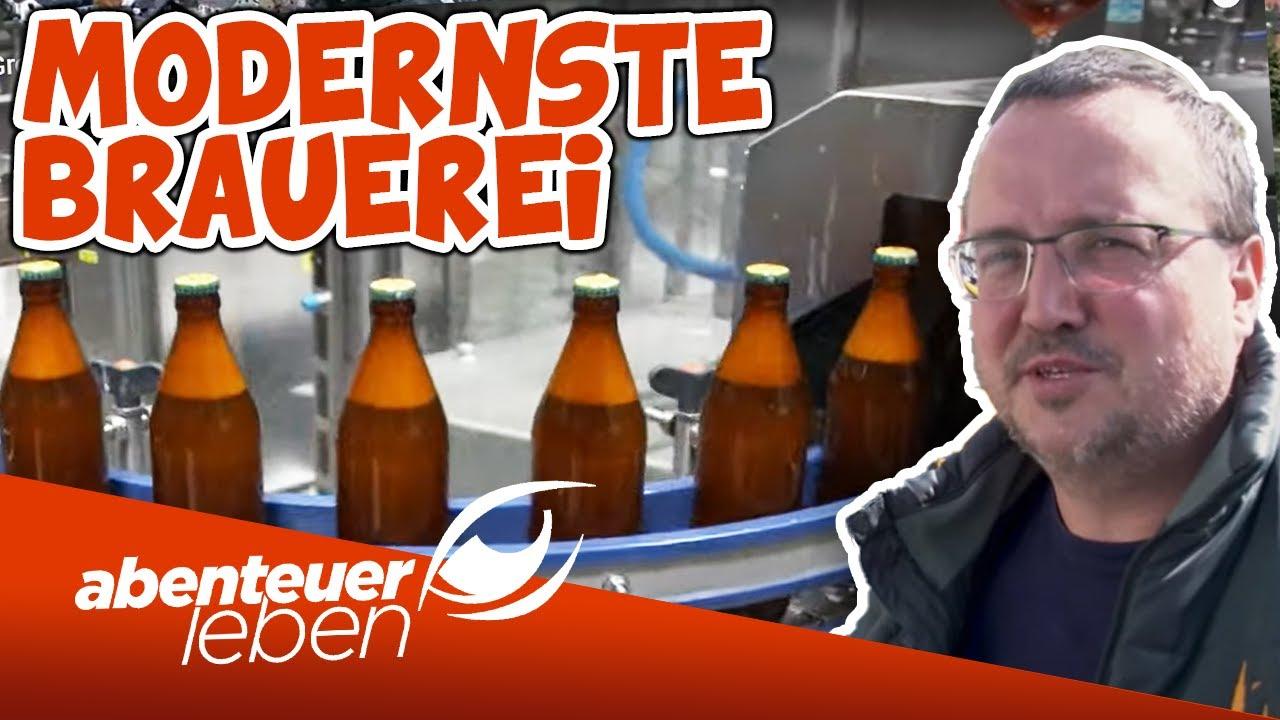 Mehr Bier für Deutschland! Der Bau der modernsten Groß-Brauerei | Abenteuer Leben | Kabel Eins
