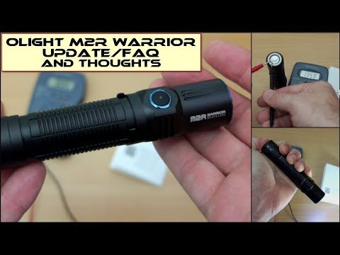 Olight M2R Warrior: Update/FAQ/Thoughts etc