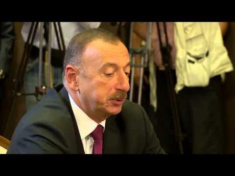 Трехсторонная встреча в Сочи президентов Азербайджана, Армении, России.