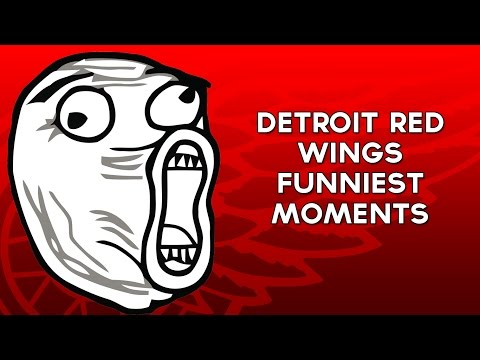 Detroit Red Wings Funniest Moments