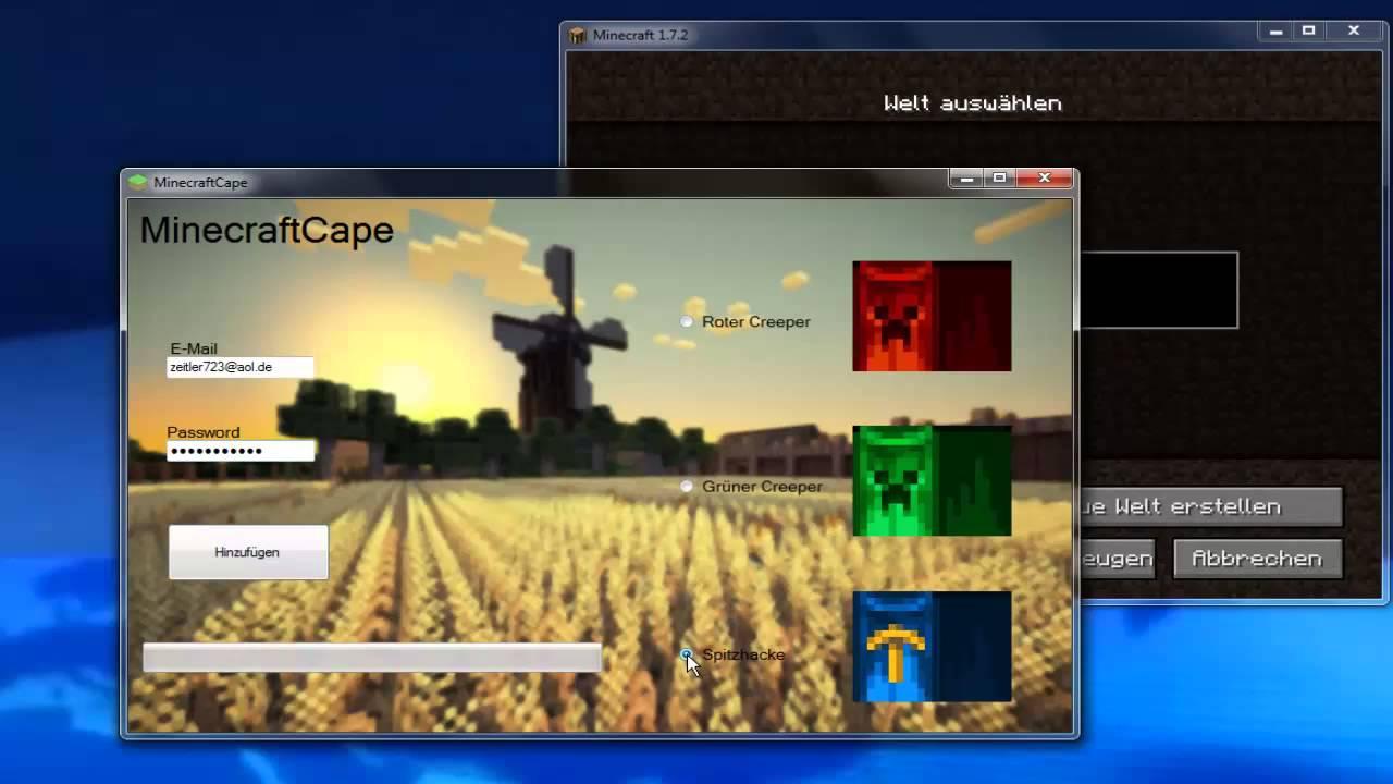 FREE MINECRAFT MOJANG CAPES! [German|English] - YouTube