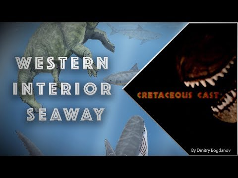 Cretaceous Cast: Western Interior Seaway Land Bridge