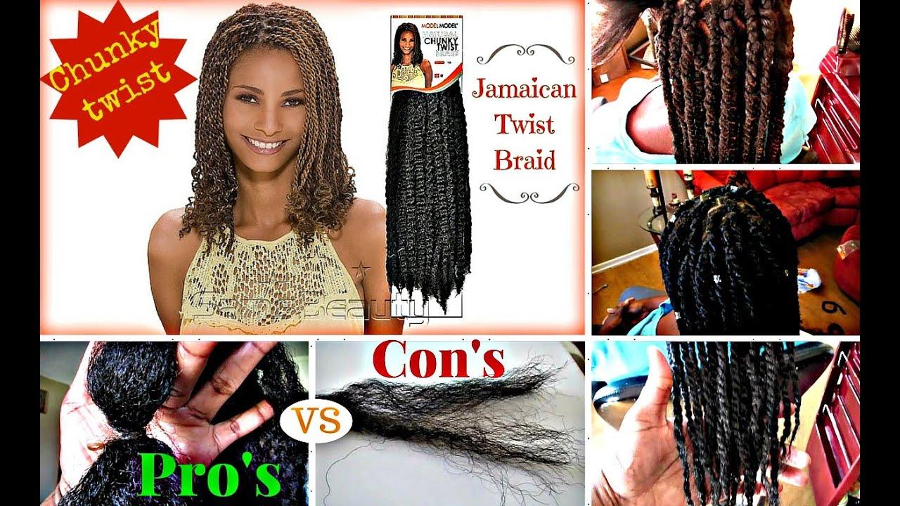 Jamaican Twist Braid