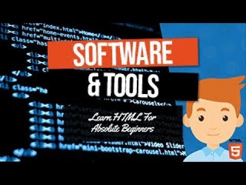 HTML Tools And Software