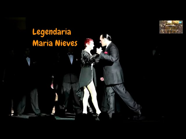 Legendaria del tango. Escuchar y verla bailar,  Maria Nieves, Buenos Aires