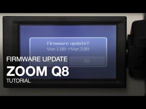 Zoom Q8: Firmware Update