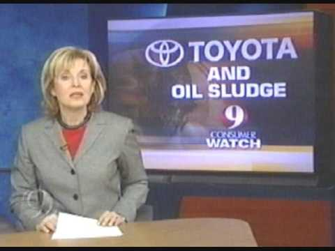 Toyota Engine Oil Sludge or Toyota Oil Gel Engine Failure