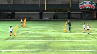 Triangle Passing Soccer Drills from Ian Barker!