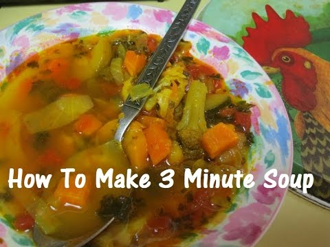 Three Minute Soup