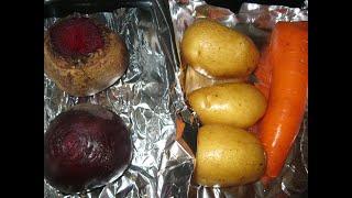 Запекать или Варить ОВОЩИ для Салатов? Польза Запеченных овощей!77