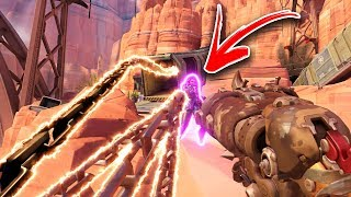 He Made Sombra UNINSTALL After This Crazy Trick! - Overwatch Funny Moments & Best Plays #115