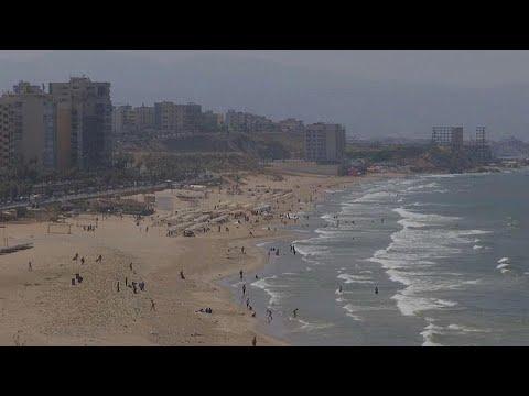 يورو نيوز:فيديو: شواطئ لبنان تعاني بسبب كارثة النفايات