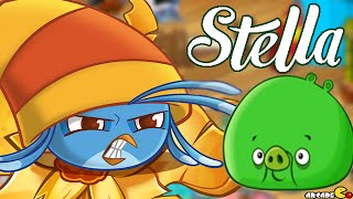 Angry Birds Stella -  NEW Pigs On The Block Gameplay Walkthrough Part 5